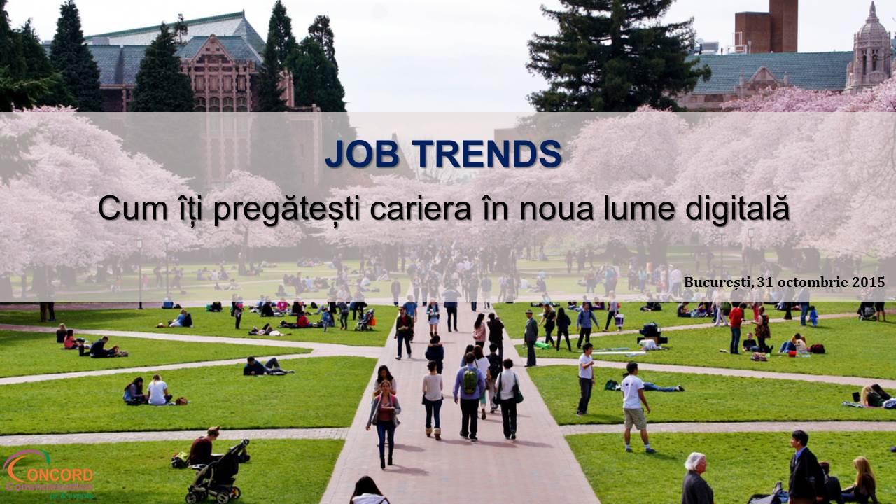 Job Trends Prezentare