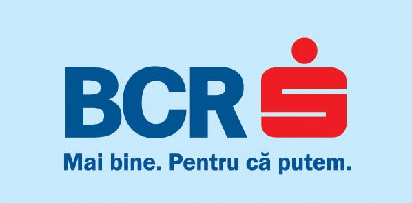 Logo BCR Cu Banda Mica